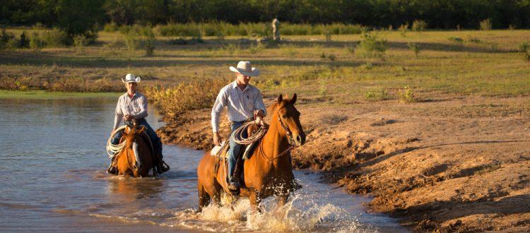 Rando cheval voyage au Texas