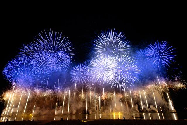 feux d'artifices jour de l'an autour du monde