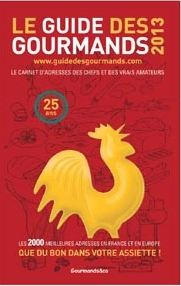 Le guide des gourmands 2013