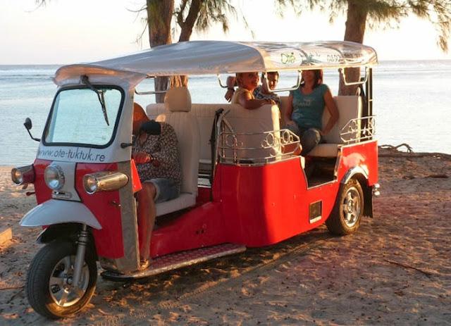 Nouveauté à la Réunion : Oté Tuktuk