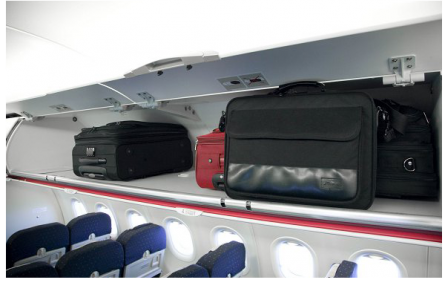 Bagages en cabines en avion